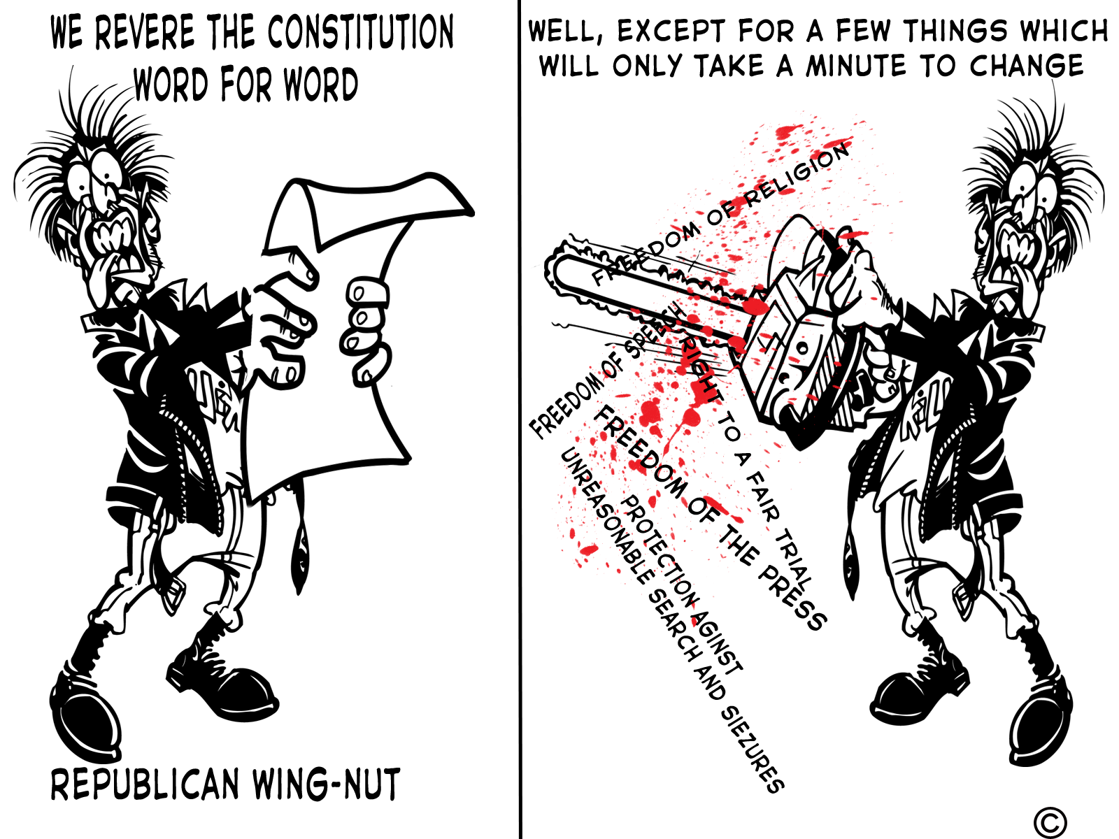 Republicans And The Constitution Putting Radical Ideology