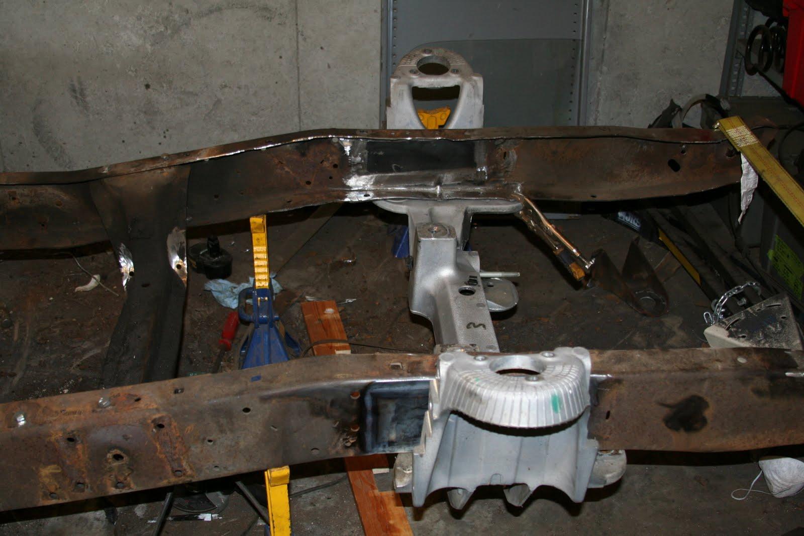 1966 Ford F100 Restoration: October 2010