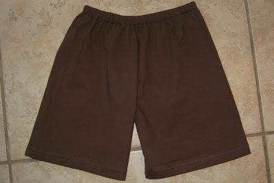 shorts on floor