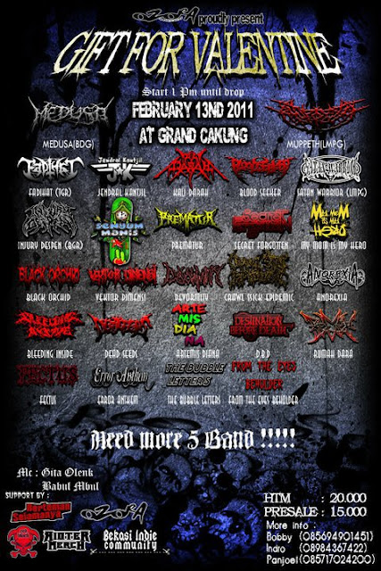 famlet event metal