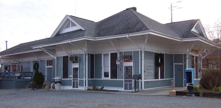 RamblerTrek: Blue Ridge Scenic Railway, Blue Ridge