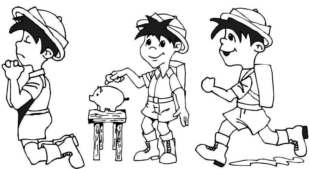 Las Misiones Y Los Niños Dibujos Para Colorear De Niños: Las Misiones Y Los Niños: Abril 2011