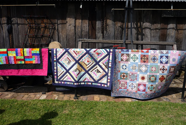 Caring Hearts Quilt Group - Airing of the Quilts