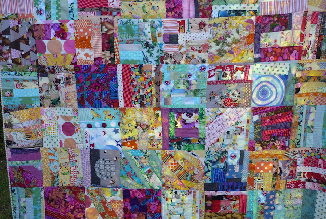 My Quilt History- Part 8,  Lucky Dip