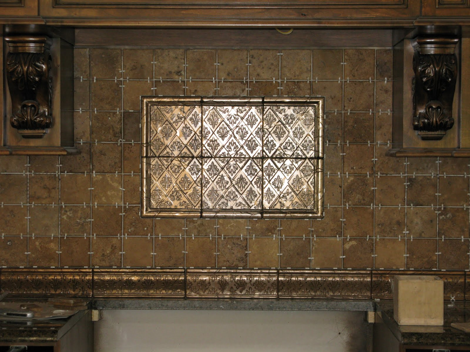 No Grout Kitchen Backsplash