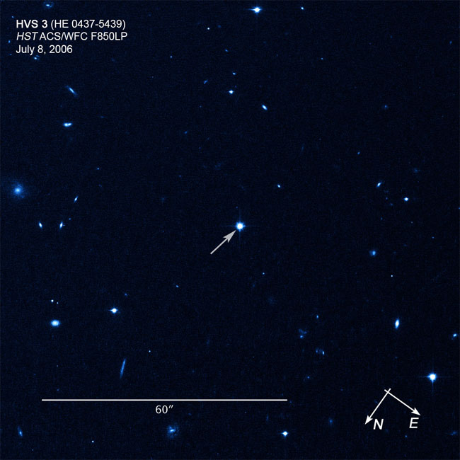 Suburban spaceman: Hubble captures Supersonic Star ejected ...