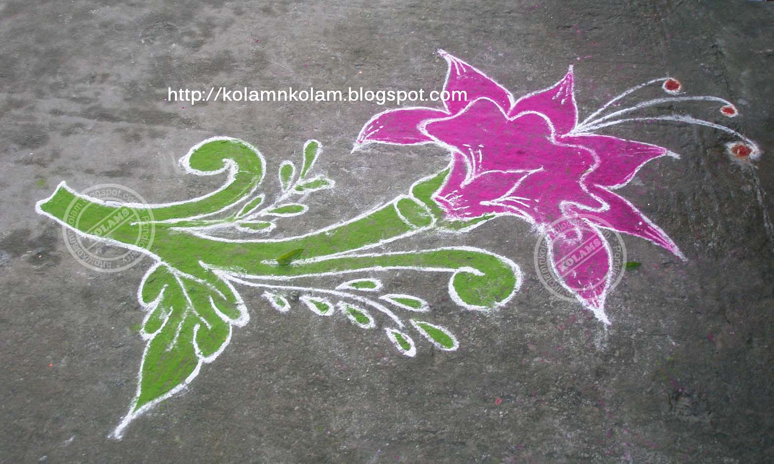 Part 02 New Year 2011 Kolam