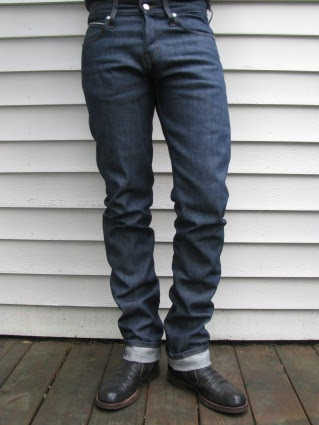 Naked & Famous Weird Guy Chrismukkah Jeans
