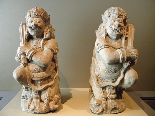 Asian Art Museum Pieces - India And Indonesia
