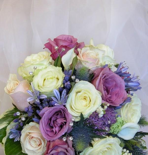 Wedding Flowers Lancashire: Kathleens Florist, Blackpool: Blue & White Wedding Day At