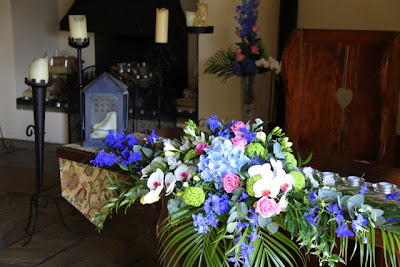 Chair Cover Hire Kerry White Fuzzy & Darren's Fabulous Royal Blue Pink Wedding At The Great Hall Mains