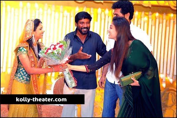 Director Siddique Daughter Marriage Stills-Prabhu-Nayanthara