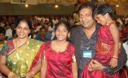 Prakash raj and family