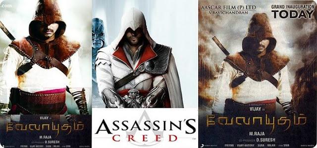 Velayudham Vs Assassin's Creed Still 1