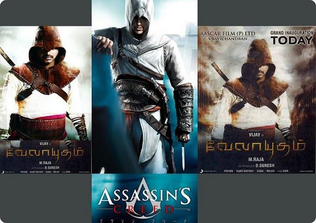 Velayudham Vs Assassin's Creed-still 3