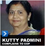 Kutty Padmini Complains to the Police Commisionner