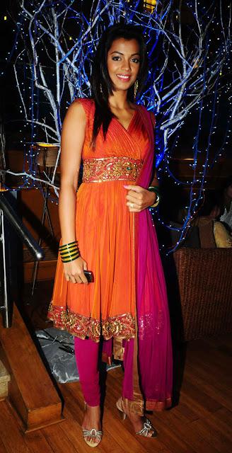 MUgdha Godse-Prakash Raj Pony Verma Wedding Reception Stills