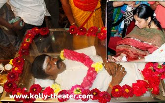 Murali's final rites will be performed in the besant nagar