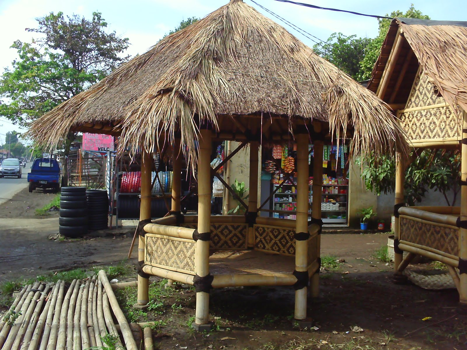 Sanggar Tunas Bambu Gazebo