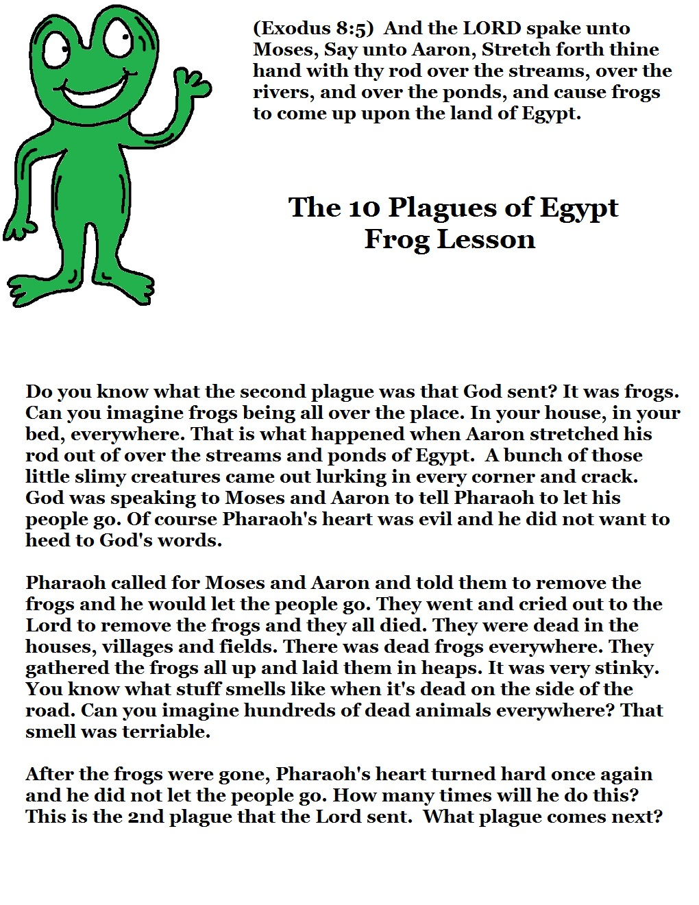 Church House Collection Blog The 10 Plagues Of Egypt
