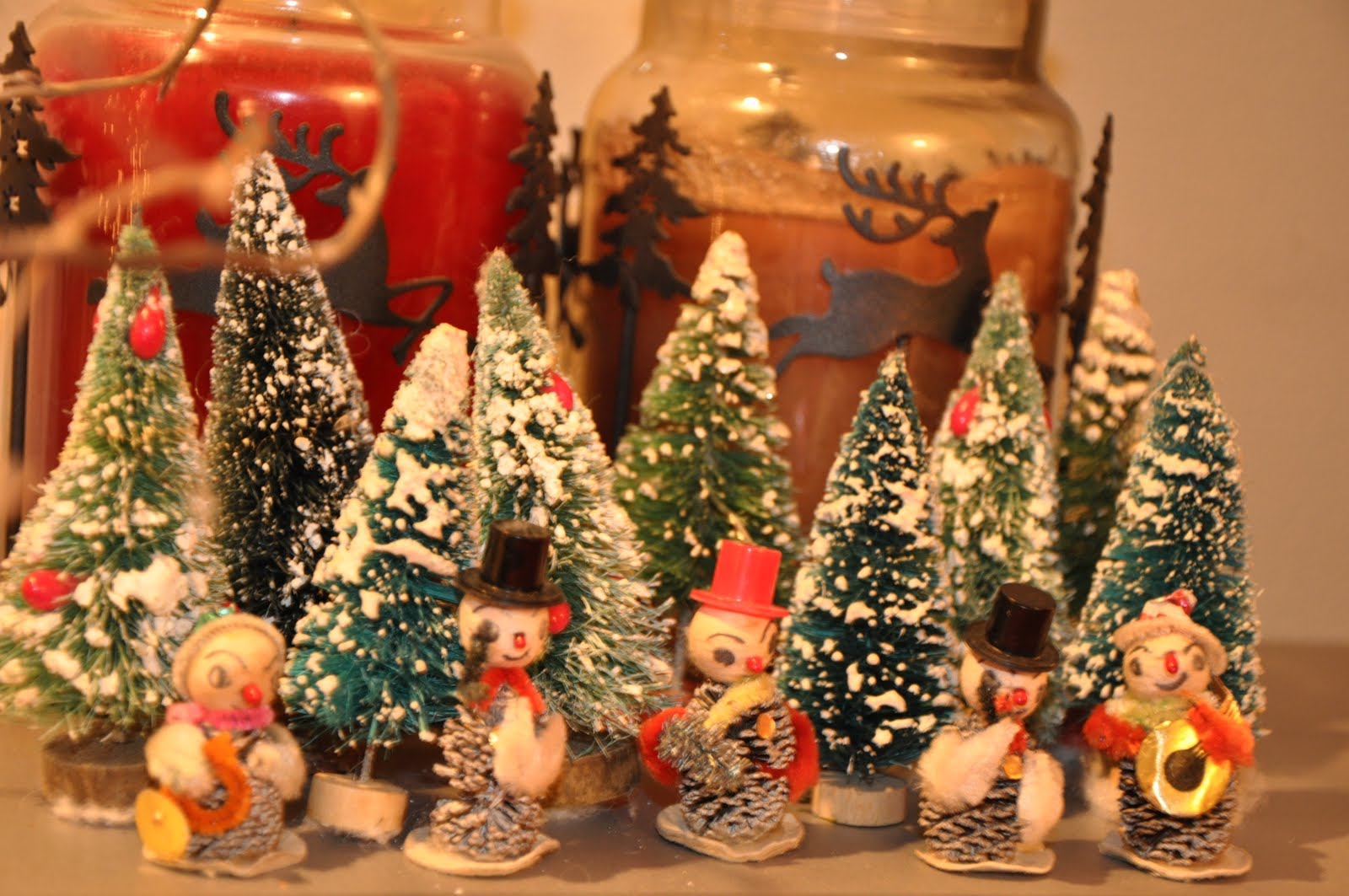 Vintage Christmas Decorations.Swoon Studios Musings Vintage Wednesday Vintage Christmas