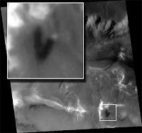 تشكيل البرج فوق سطح المريخ