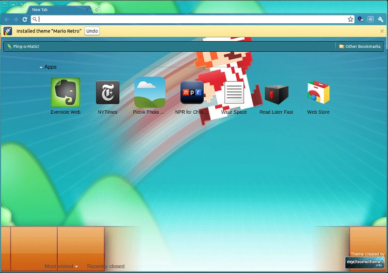10 Fresh and Awesome Google Chrome Themes   TechSource