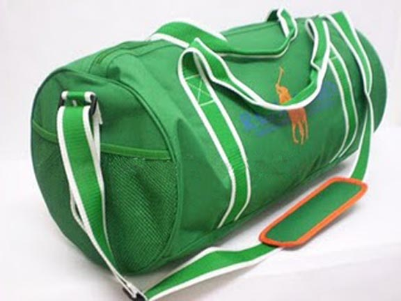 BIG PONY COLLECTION GYM DUFFLE Weekender BAG BY Polo Ralph Lauren - Green  S 45.00 ce3758b0da624