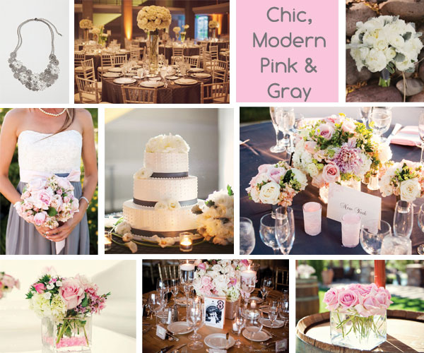 Grey Wedding Ideas: Connies Wedding: Yellow, Grey... And PINK?
