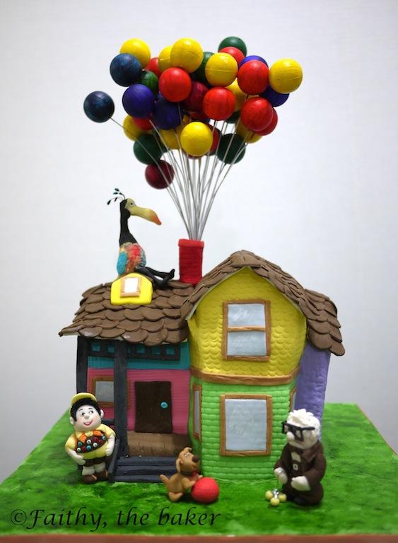 Diary Of Faithy The Baker Pixar Up Cake
