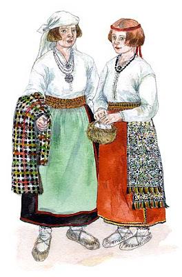 d182a2f0ff0 Halliste-Karksi mehe rõivakomplekti kuulusid 19. sajandi esimesel poolel  särk, püksid, vatt (villane, puusadeni ulatuv pihtkuub), pikk-kuub,  kasukas, rüü, ...