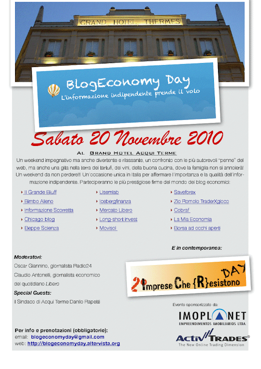 TOO BLOG TO FAIL - ACQUI TERME 20 NOVEMBRE - L\