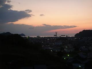国民宿舎『湯浅城』お風呂からの眺め