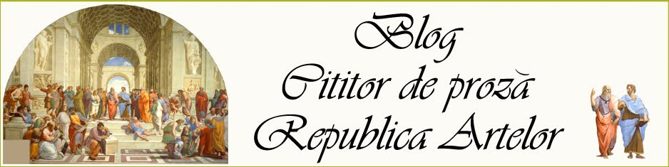 Blog Cititor de Proză - Republica Artelor