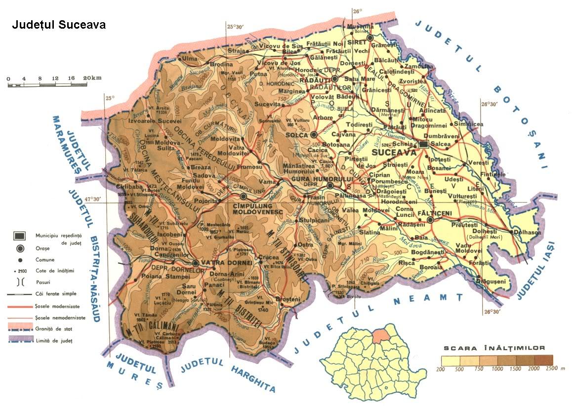 Romania Live Harta Rutiera Suceava Live Webcam Suceava Vatra Dornei