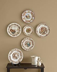 My Sweet Savannah Decorating With Plates