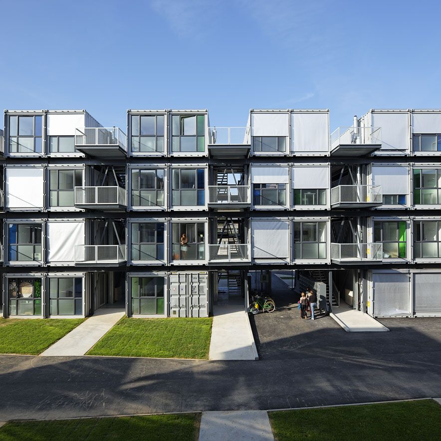Student Apartments: Real Life Is Elsewhere: Cité A Docks Student Housing