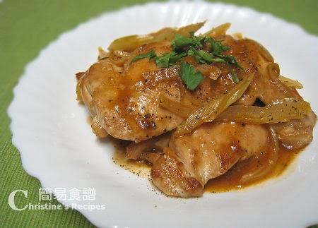 黑椒雞扒【特色配汁】Fried Chicken in Black Pepper & Tomato sauce   簡易食譜 - 基絲汀: 中西各式家常菜譜