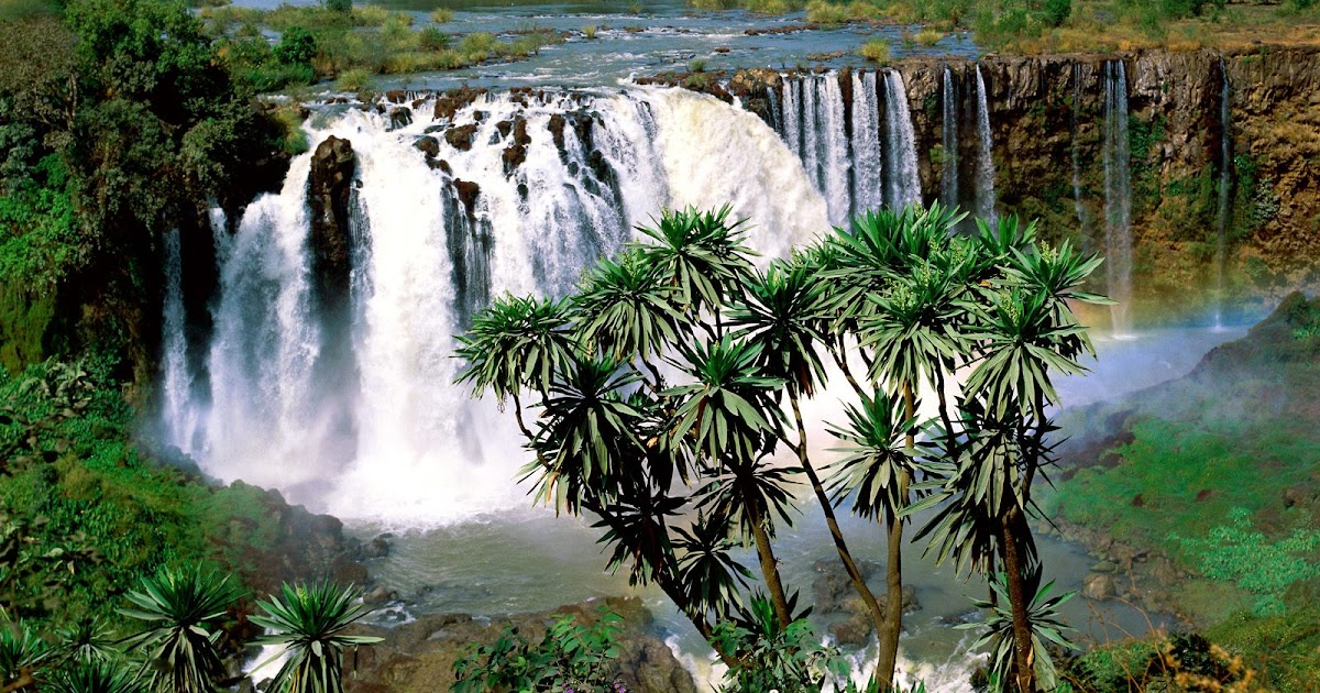 Blue Nile Falls Wallpaper Mega Wallpaper City Blue Nile Falls Ethiopia