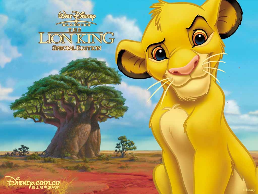 Top Cartoon Wallpapers: The Lion King Wallpapers