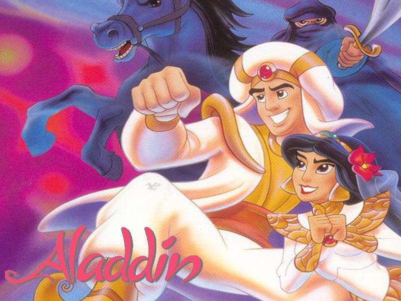 Aladin. Clásicos de Disney. Disney. Libro en papel