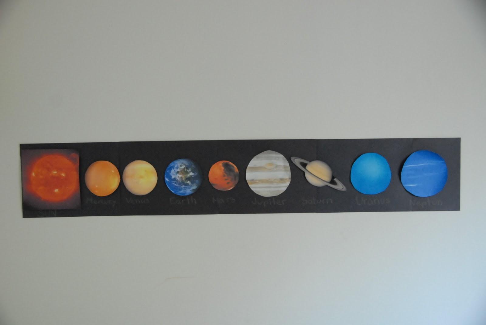 preschool solar system boklet - photo #47