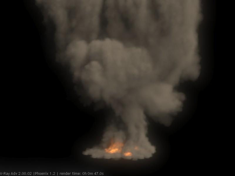 CG Taiwaner 台灣人玩動畫: Phoenix FD Tutorial: explosion