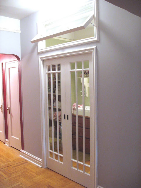 Micmac Interiors Nursery With French Pocket Doors