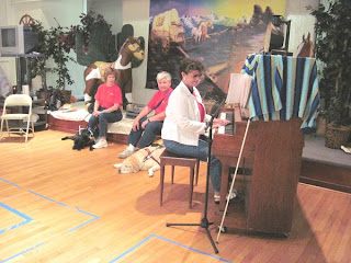 Laurel provides music for Paws to Educate kickoff