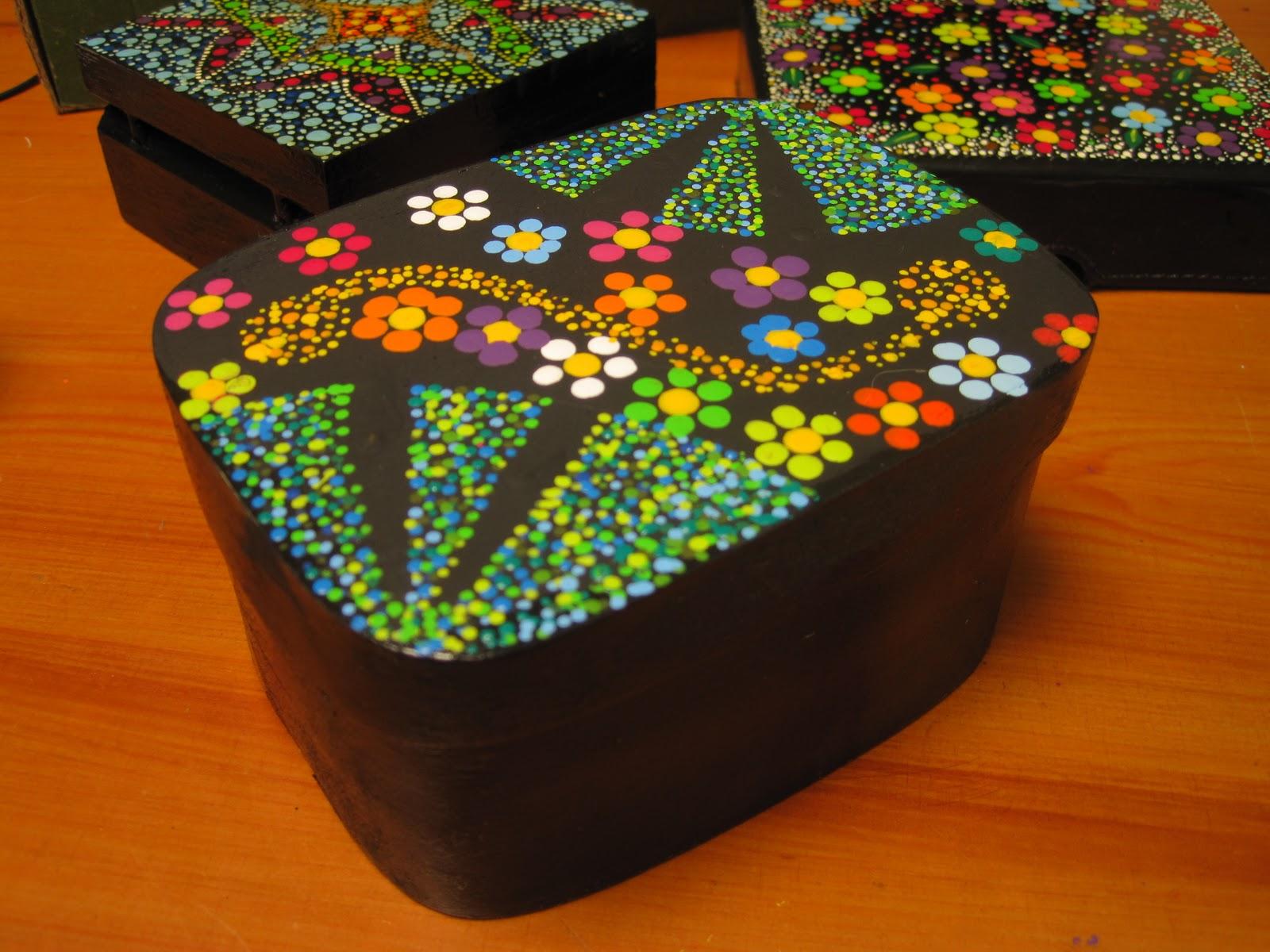 Manualidades abbad art armenia colombia cajas decorativas - Decorar cajas de madera manualidades ...
