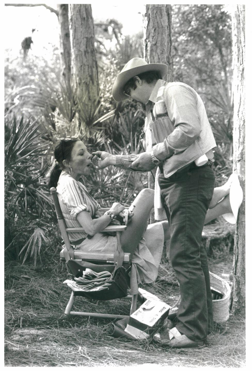 ON THE SET : EMPIRE OF THE ANTS! 1977