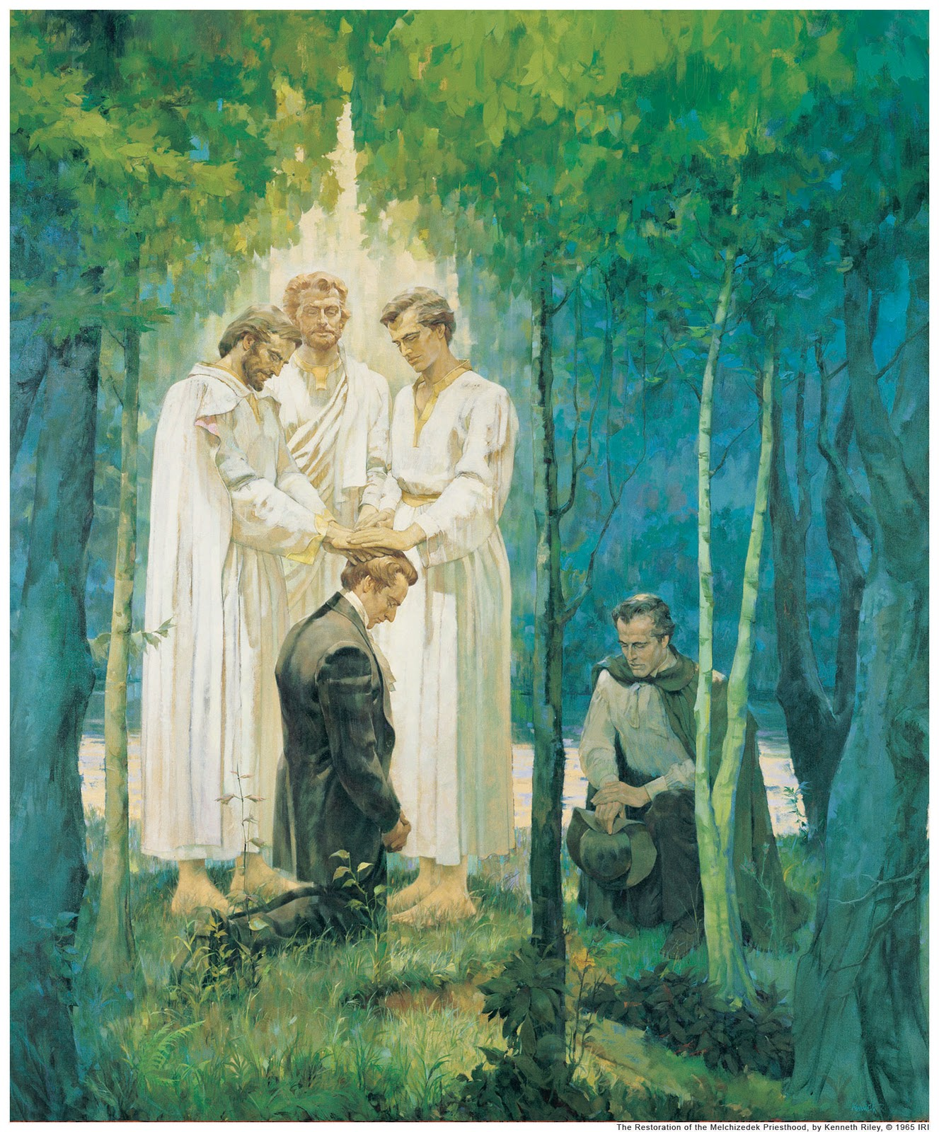 Request Your Priesthood Line Of Authority By Email Mormon Life Hacker
