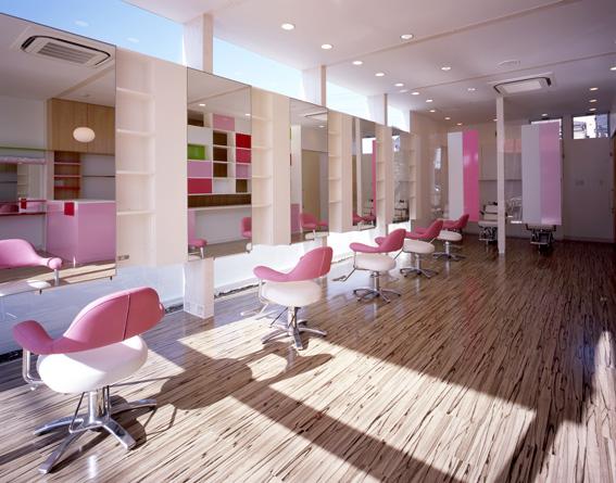 Simple Kitchen Meaning Salon Interior Design Arp Hills Beauty Salon Kawaguchi Saitama Emmanuelle Mourea