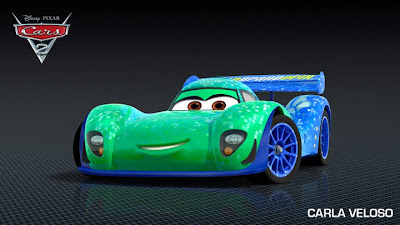 Carla Veloso - Cars 2 Film